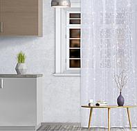 Штора кухонная арт.М436а 145х250 см, цвет белый