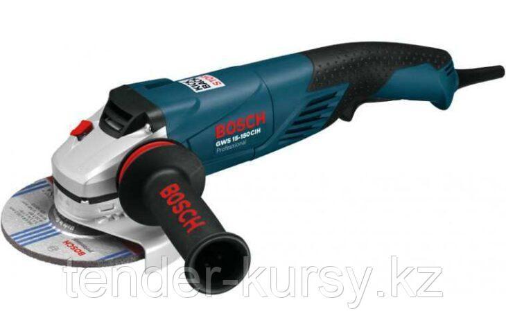 Углошлифмашина до 1.5 кВт Bosch GWS 15-125 CIEH