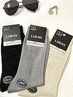 Носки мужские хлопок 6183 LIMAX 39-45 (в упаковке 12 шт)