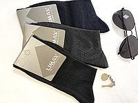 Носки мужские хлопок черные LIMAX 39-41 (в упаковке 12 шт)
