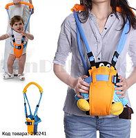Вожжи-поводок ходунки детский с удобной рукоятку Moby Baby Moon Walk