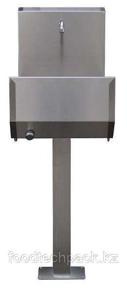 Однопозиционная раковина для установки на полу, с коленчатым клапаном 13.1110.00