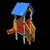Игровой комплекс Romana, с лестницей, горкой, крышей