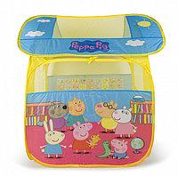 Peppa Pig 30010 Игровая палатка, 83*100*80см, в чехле, Пеппа
