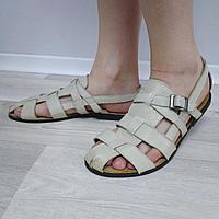 Мужские сандали из эко-кожи.