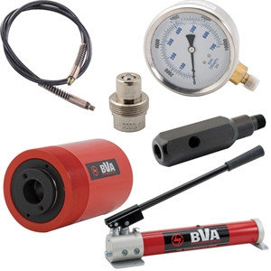 Набор цилиндров с отверствием BVA Hydraulics HC серия