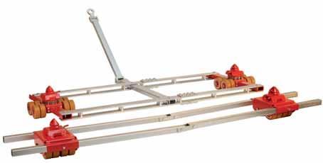 Система транспортировки контейнеров BVA Hydraulics
