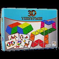 Настольная игра 3D ҮШБҰРЫШ
