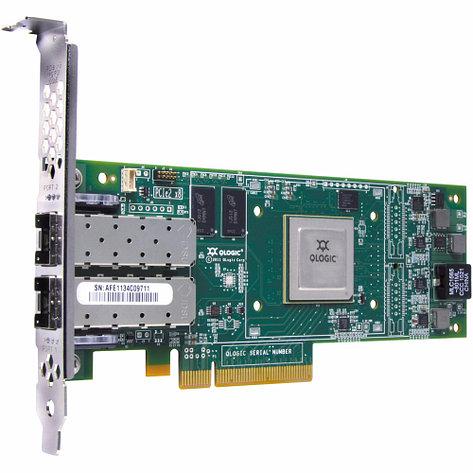 Сетевая карта HPE SN1100Q Dual Channel 16Gb FC Host Bus Adapter P9D94A (FC), фото 2