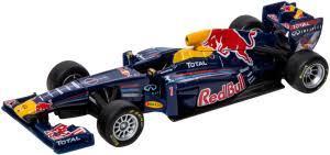 1:64 BB Машина ФОРМУЛА-1 Red Bull D-C RB9 металл. в пластиковом диспенсере Bburago