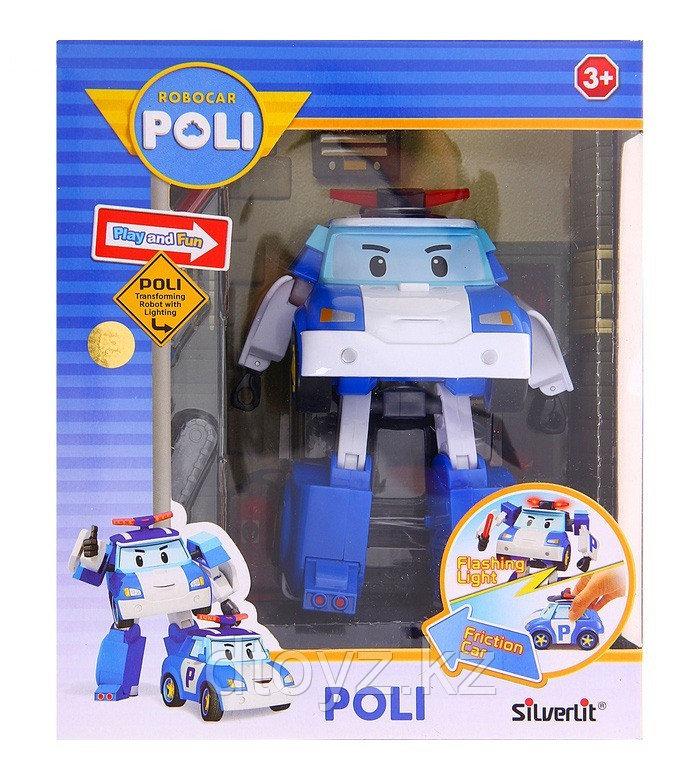 Машинка-трансформер POLI Поли (7,5 см)