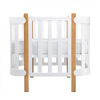 Кроватка-трансформер Mommy Lux, белая, фото 1