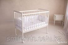Кровать детская Golden baby Рlus цвет белая