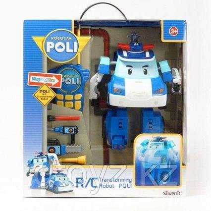 Робот-трансформер р/у POLI Поли (31 см)