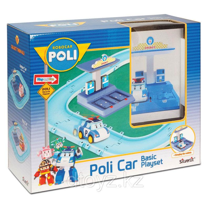 Трек POLI с Умной машинкой Поли (маленький)