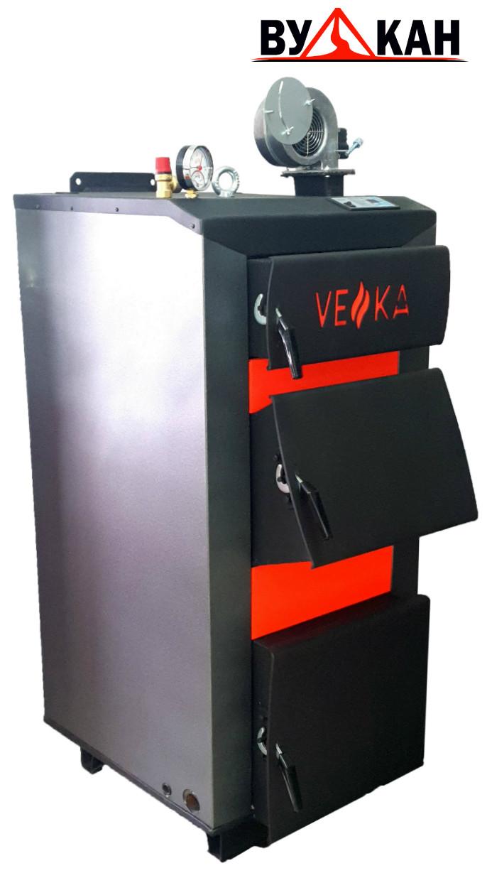 """Котел отопления твердотопливный """"VEKA"""" (ВЕКА) -15 кВт УТ от 50 до 150 кв.м."""