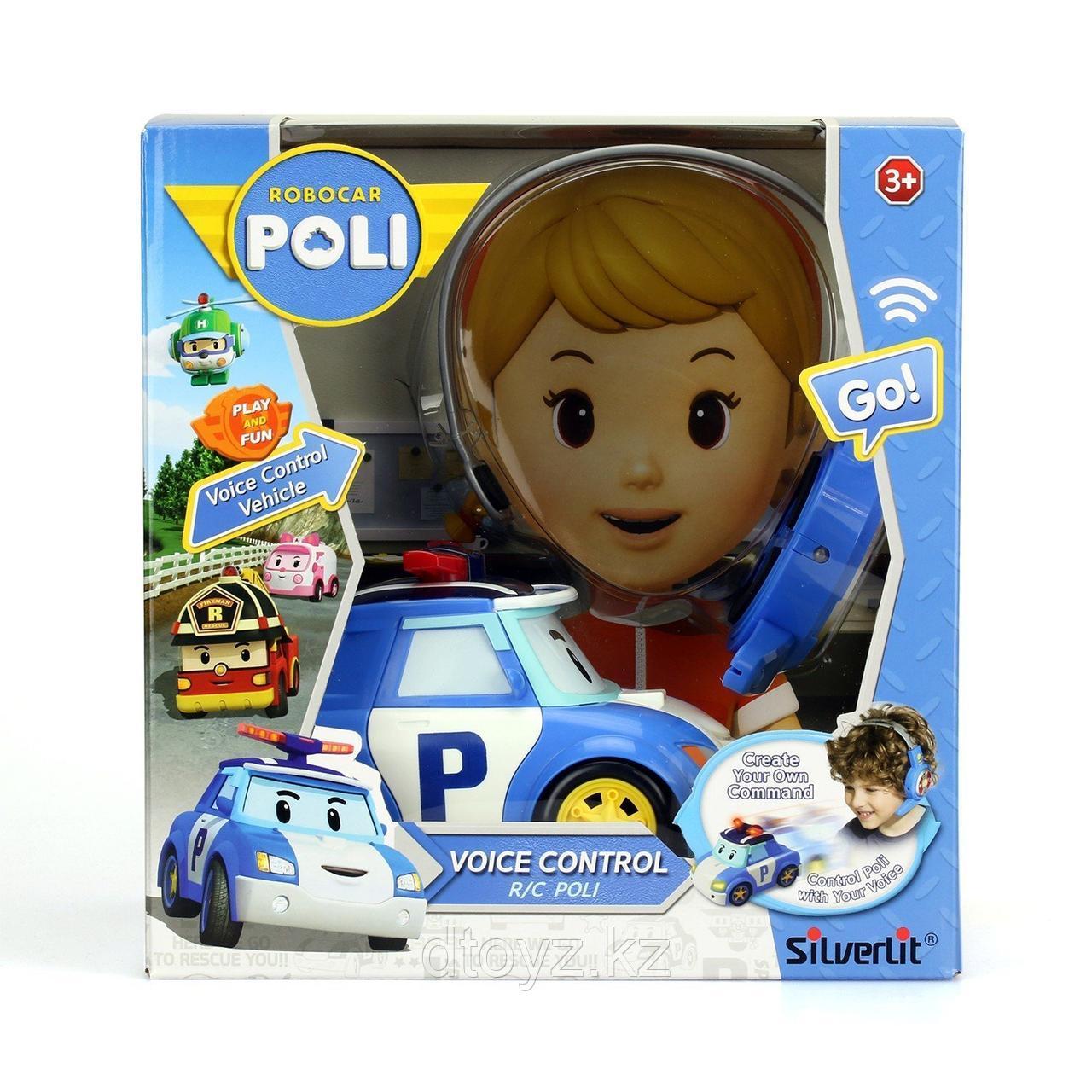 Машинка-трансформер POLI Поли на голосовом управлении
