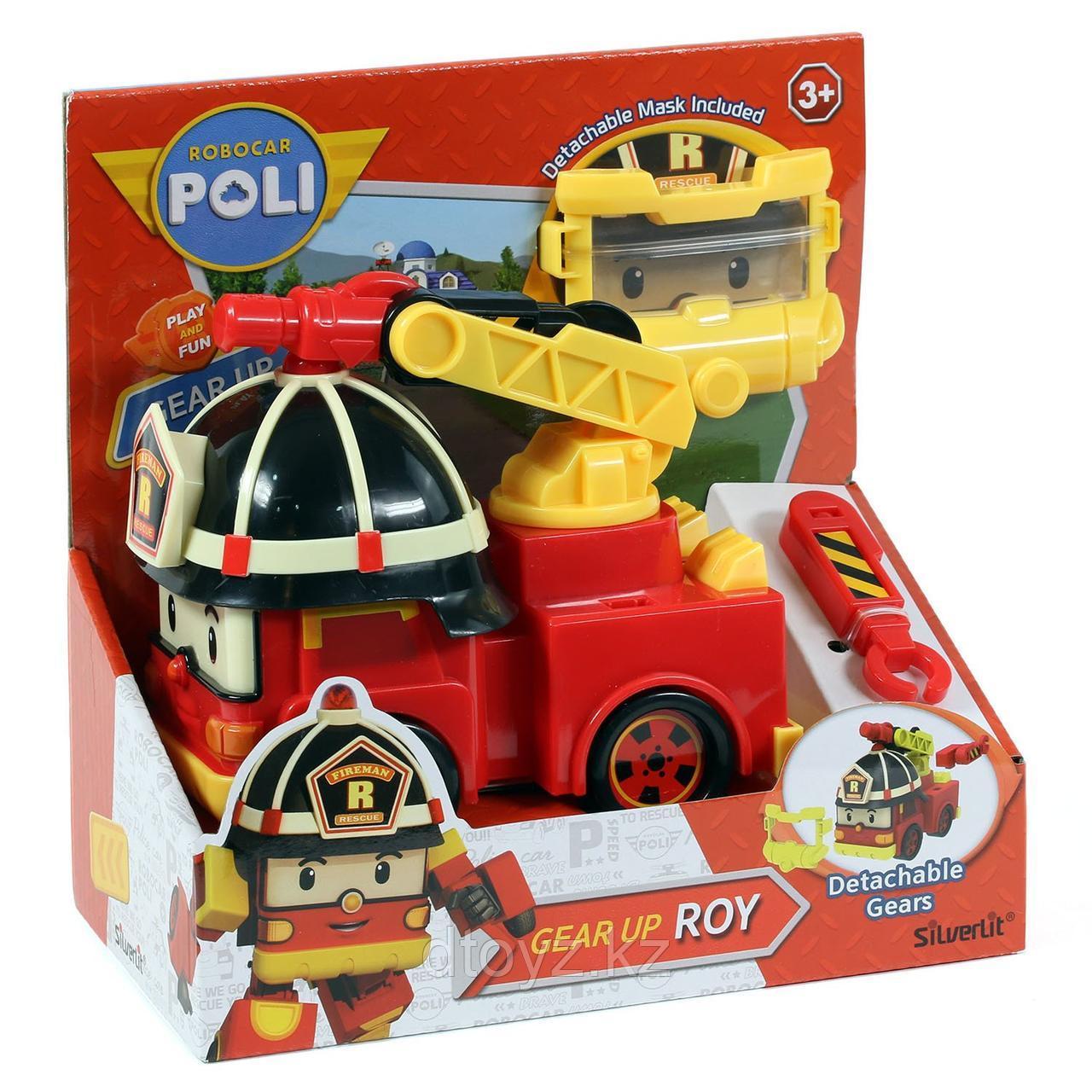 Машинка POLI Рой с акссесуаром