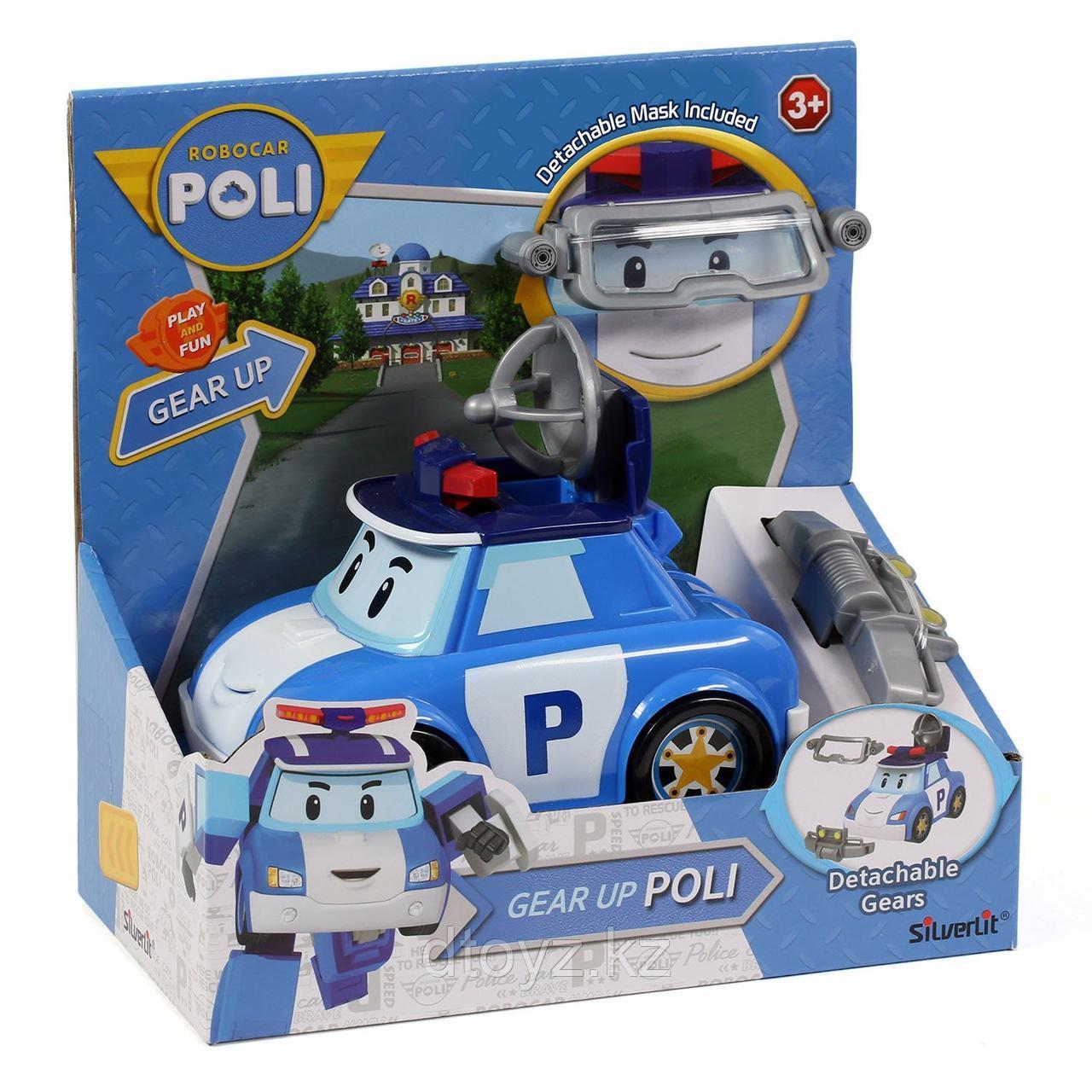 Машинка POLI Поли с акссесуаром