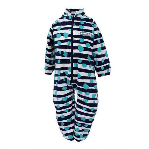 Флисовый комбинезон для малышей Huppa ROLAND, синий 122
