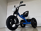 """Детский трехколесный велосипед """"Harley"""" с передней фарой и музыкой, фото 4"""