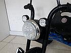 """Детский трехколесный велосипед """"Harley"""" с передней фарой и музыкой, фото 6"""