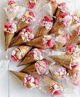 Треугольный пакет для сладостей, в упаковках 50, 100 или 1000 шт.