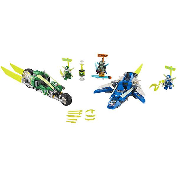 Игрушка Ниндзяго Скоростные машины Джея и Ллойда - фото 2