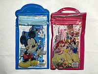 Набор детский 5в1 Дисней в сумочке (лин,точ,каран,блокн)
