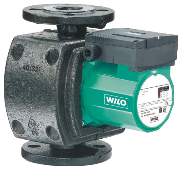Насос циркуляционный с мокрым ротором Wilo, Top-S 50/15 (3~400/230 V,50 Hz)