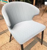 Стул серый - креслице