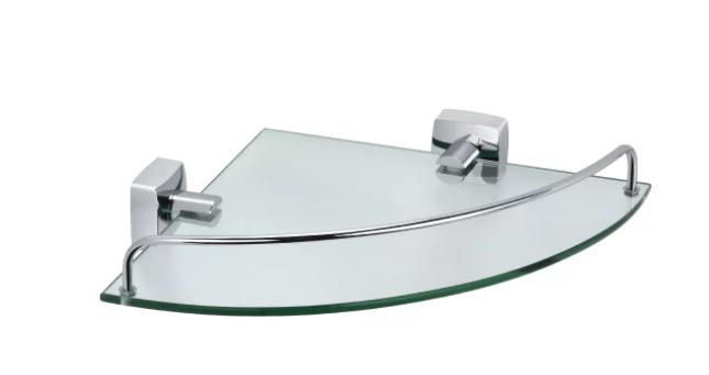 Полка стеклянная угловая FX-61303A (к/к 5)