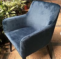 Кресло бархатное