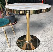 Стол кофейный под мрамор