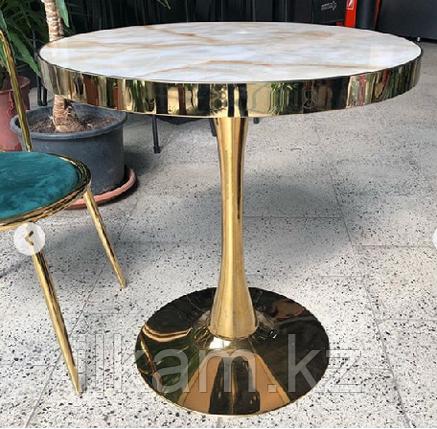 Стол кофейный под мрамор, фото 2