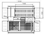 Двухпроходная гигиеническая станция 1101200014, фото 4