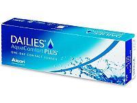 Однодневные контактные линзы DAILIES AquaComfort PLUS -4,00