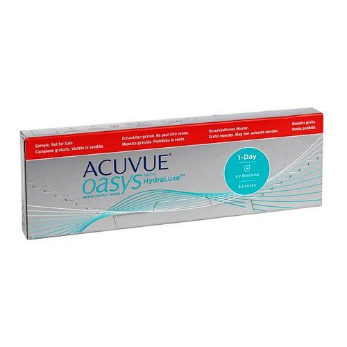 Однодневные контактные линзы ACUVUE OASYS with HydraLuxe +2.00