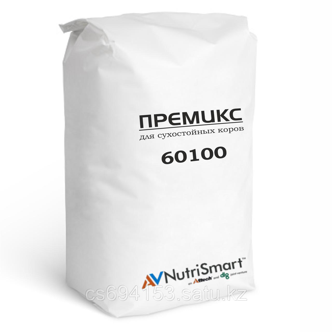 Премикс для сухостойных коров, 100% органика (60100-1.0)