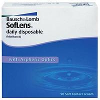 Однодневные контактные линзы SoftLens Daily disposable -3.00