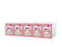 Носовые платки 2 сл., Nega mini, бел., 10 шт