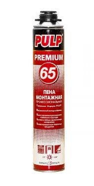 Монтажная пена PULP 65 PREMIUM