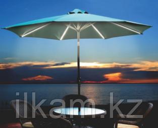 Зонт уличный с подсветкой