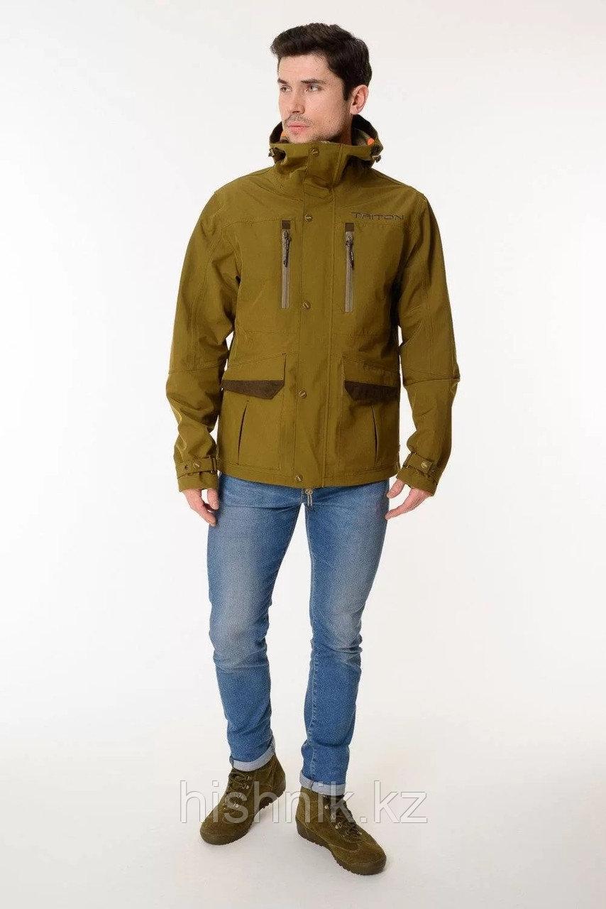 "Куртка ""HONOR-20"" (HardShell, Olive Green) PERFORMANCE"
