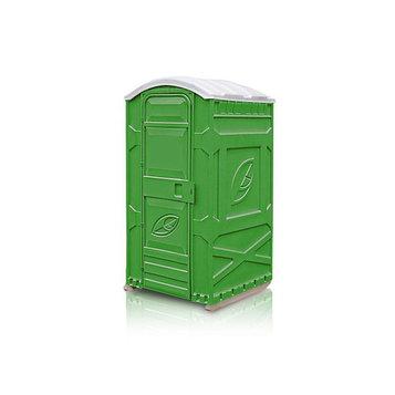 Туалетная кабина «Дачник», 115 × 111 × 222 см, разборная, на выгребную яму, зелёная