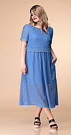 Платье Romanovich-1-1819, синий, 52