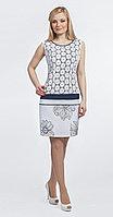 Платье Romanovich-1-1076, белые тона, 44