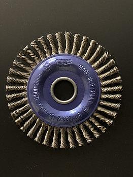 Щётка дисковая D 125 x 6 x 22,2 mm. OSBORN Жгутоваястальная проволока 0,5mm