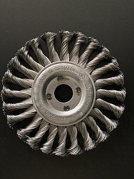 Щётка дисковая D 150 x 13 x 22,2 mm. OSBORN Жгутовая стальная проволока 0,5mm