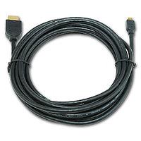 Кабель Cablexpert HDMI-microHDMI CC-HDMID-10 (19M/19M, 3.0м, v1.3, Black)